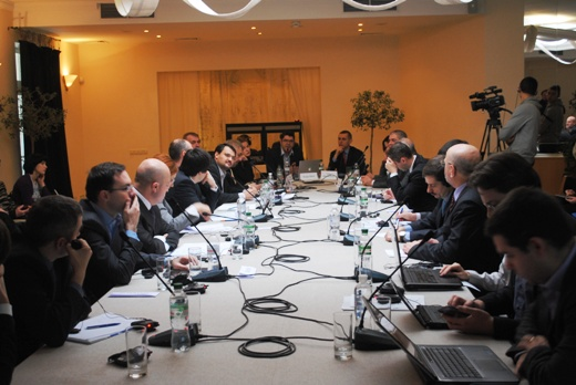 Синхронный перевод на 2-м Форуме Украина-Румыния